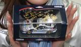 小田倉様にサインを貰ったミニカーの写真