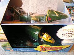 コーギー製サンダーバード2号のパッケイジ写真