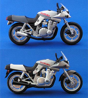 アオシマ版とイクソ版の比較写真