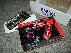 タイサン特注 ポルシェ962C&フェラーリF40セットのパッケイジ写真