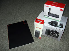 EOS 40Dのパッケイジ写真