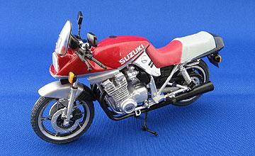 F-toys GSX1100Sカタナ(赤銀)の写真