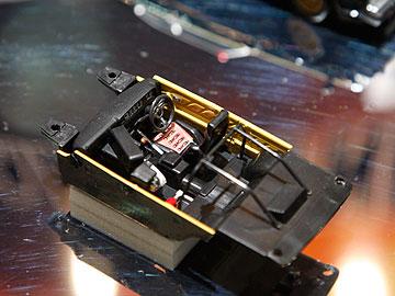 マシンXのコックピットの写真