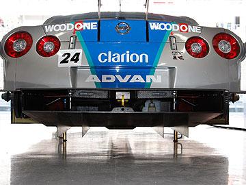 WOODONE ADVAN Clarion GT-Rの写真(リア)