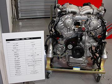 VR38DETTエンジンの写真