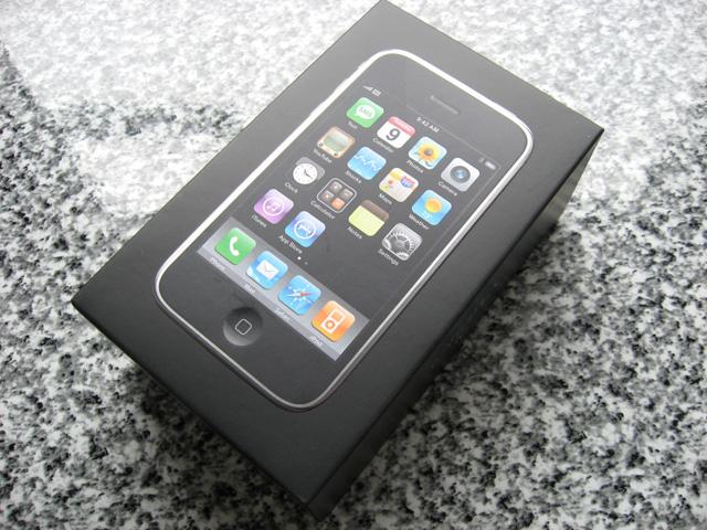 iPhone 3Gのパッケイジの写真