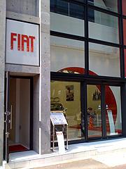 フィアットカフェの店舗の写真