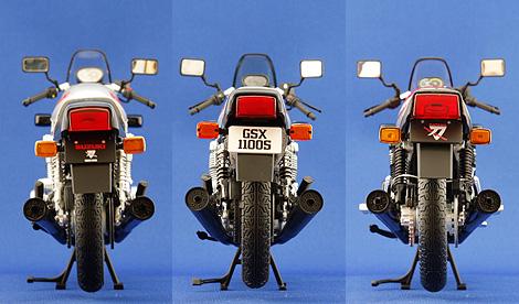 3メイカーのリヤの比較写真