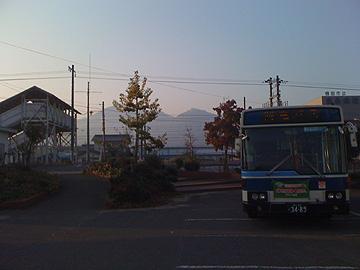 バス乗り場の写真