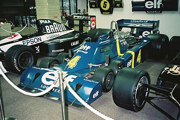タイレル6輪の実車の写真