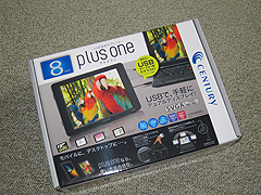 LCD-8000Uのパッケイジの写真