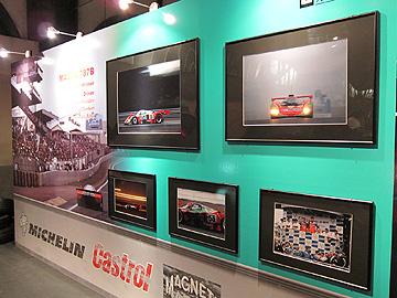 マツダのパネル展示の写真
