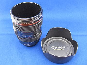 EF24-105mm F4L IS USM型飲料カップの写真
