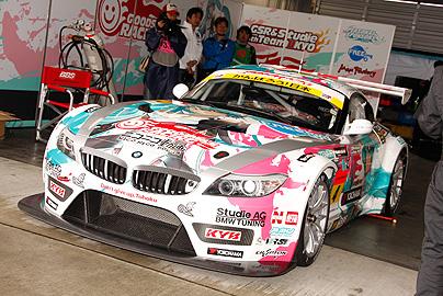 初音ミク グッドスマイル BMWの写真2
