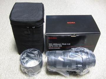 シグマ APO 120-400mm F4.5-5.6 DG OS HSMの写真2