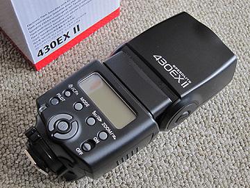 キヤノン 430EX IIの写真
