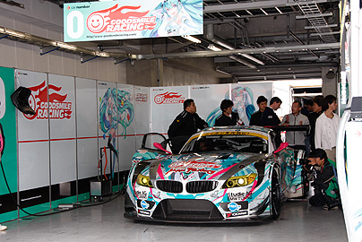 GSR 初音ミク BMWの写真1