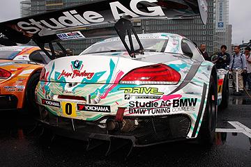 GSR 初音ミク BMWの写真5