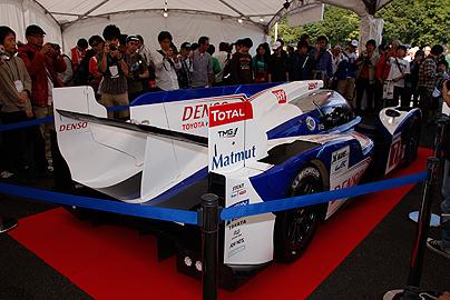 トヨタTS030の写真4