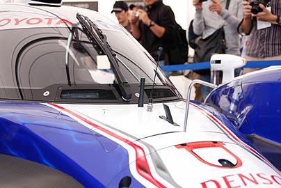 トヨタTS030の写真6