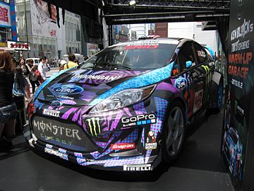 フィエスタST RX43グローバルラリークロスカーの写真2