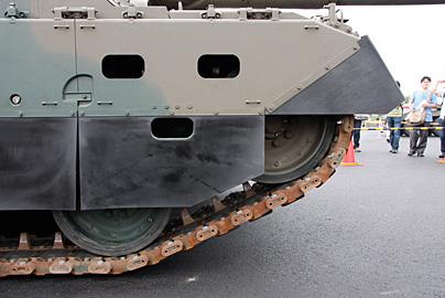 10式戦車の写真10