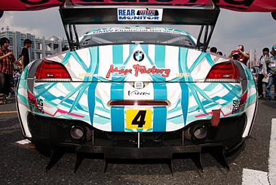 GSR 初音ミク BMW MY2013の写真4