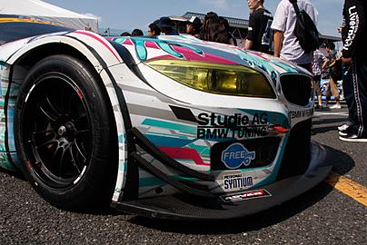 GSR 初音ミク BMW MY2013の写真5