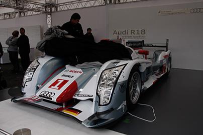 '12 アウディR18 e-tron quattroの写真1