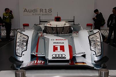 '12 アウディR18 e-tron quattroの写真3