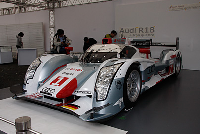 '12 アウディR18 e-tron quattroの写真4