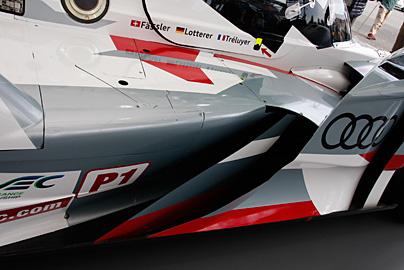 '12 アウディR18 e-tron quattroの写真8