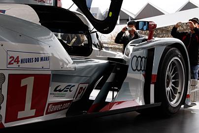 '12 アウディR18 e-tron quattroの写真9