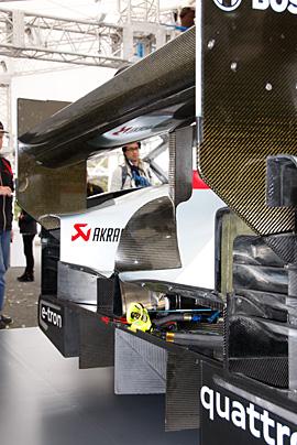 '12 アウディR18 e-tron quattroの写真11
