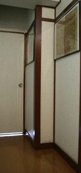 設置前の廊下の写真