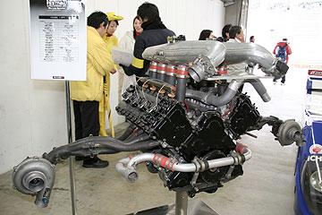VRH35Zエンジンの写真