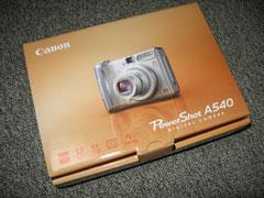PowerShot A540の写真