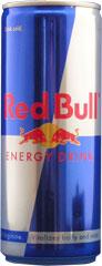 レッドブルの缶の写真