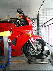 渋谷区役所二輪駐車場の写真